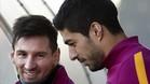 Leo Messi no entrena con el equipo