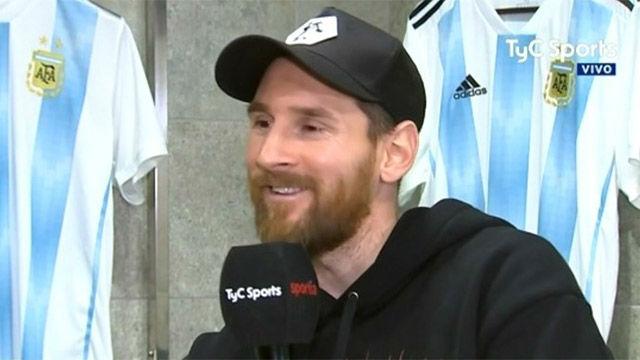 Leo Messi habló de sus hijos