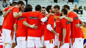 Los jugadores españoles están plenamente mentalizados en lograr el objetivo