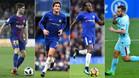 Los laterales, claves tanto en el Barça como en el Chelsea