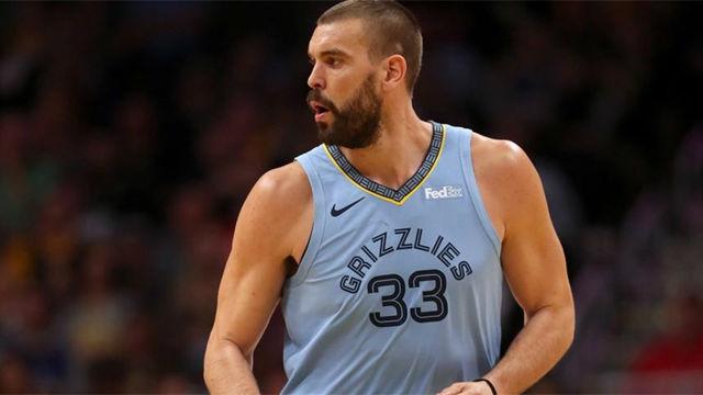 Los Rockets arollaron a los Grizzlies de Gasol