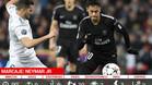 Marcaje a Neymar en el Real Madrid - PSG (3-1)