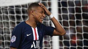 Mbappé lamenta la ausencia de Neymar en el PSG