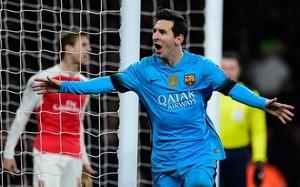 Messi marca cuando el Barça más le necesita