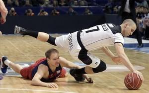 Oleson fue de los pocos que se salvaron en la deblace ante el Bilbao Basket