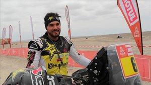 Pablo Quintanilla, a por el triunfo en la última etapa del Dakar