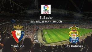 Previa del encuentro: Osasuna recibe al Las Palmas en la cuadragésima jornada