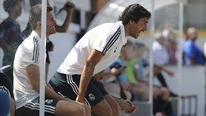 Raúl ya ejerce de técnico en las categorías inferiores del Madrid