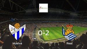 La Real Sociedad Femenina se lleva el triunfo después de vencer 0-2 al Sporting de Huelva Femenino