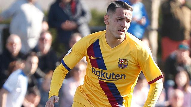 Rei Manaj se estrenó con el Barça B