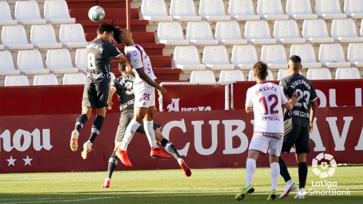 Reparto de puntos entre el Albacete y el Alcorcón