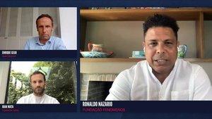 Ronaldo Nazario analizó con Juan Mata el compromiso de los futbolistas