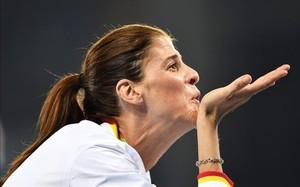 Ruth Beitia sumó su segundo diamante tras su victoria en la reunión de París