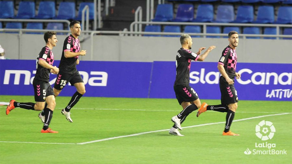 El Sabadell consiguió los tres puntos en Tenerife