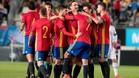 La selección española, más cerca del Europeo sub21