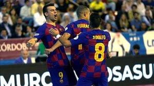 Sergio Lozano está a un gol de igualar a Wilde como máximo artillero histórico del Barça