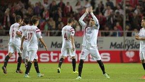 El Sevilla se encuentra posicionado en el segundo lugar de la tabla