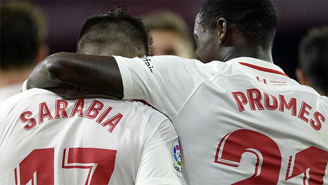 El Sevilla vence al Huesca con el VAR en contra (2-1)