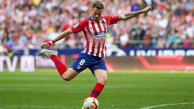 Un solitario gol de Saúl da la victoria al Atlético