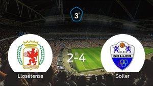El Soller se lleva tres puntos después de ganar 2-4 al Llosetense