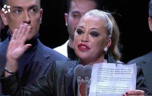 El sorprendente discurso de Belén Esteban en los Premios Iris 2019