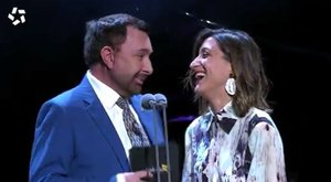 Susi Caramelo protagoniza el momento más divertido de los Premios Iris 2019