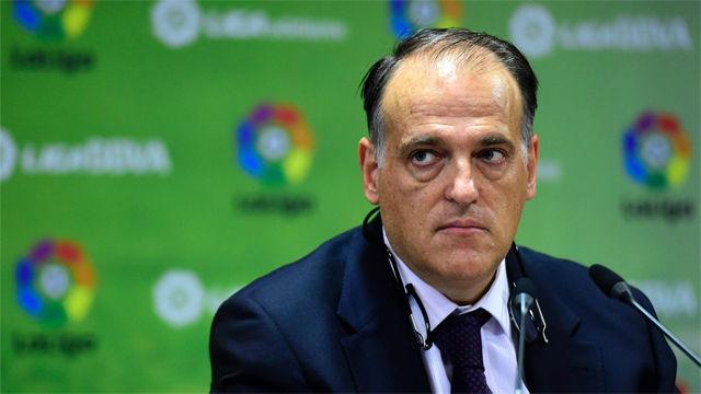 Tebas confirma el horario del Barça - Girona en Miami