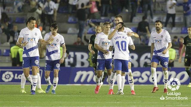 El Tenerife se llevó la victoria ante la Ponferradina