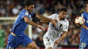Tras dos empates y una derrota, el Getafe no logra una conquista desde su victoria sobre el Huesca