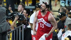 Tras ganar el anillo, Marc quiere seguir liderando a los Raptors