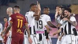 El Udinese roza la salvación.