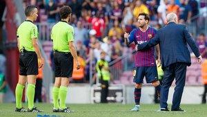 En el último precedente entre ambos, Jaime Latre exasperó a Leo