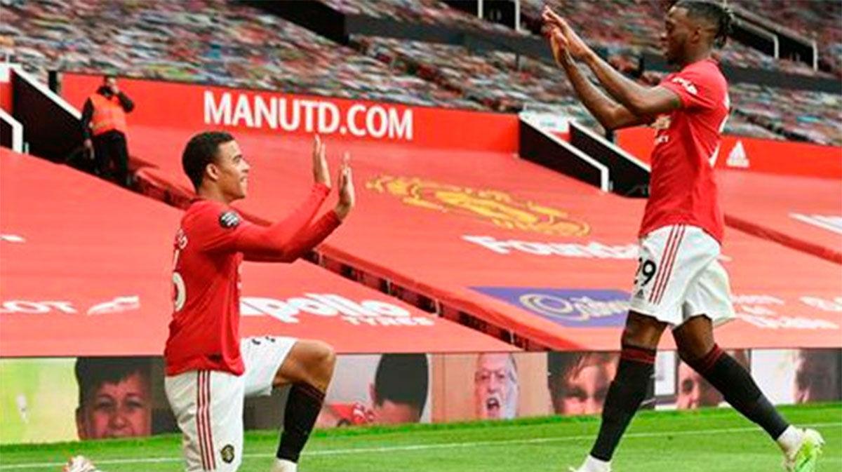 El United se gusta y apunta a la Champions