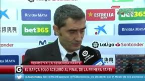 Valverde: Nos hemos quedado sin el premio de los tres puntos