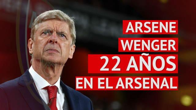 Wenger dice adiós al Arsenal