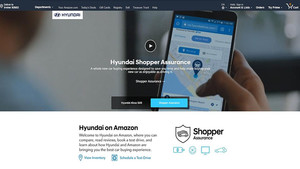 Portal de Hyundai en Amazon.