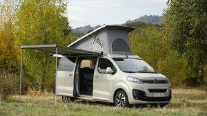 Citroën SpaceTourer Camper, abierto a cualquier aventura