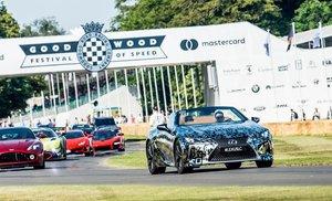 Lexus muestra en Goodwood su futuro LC descapotable