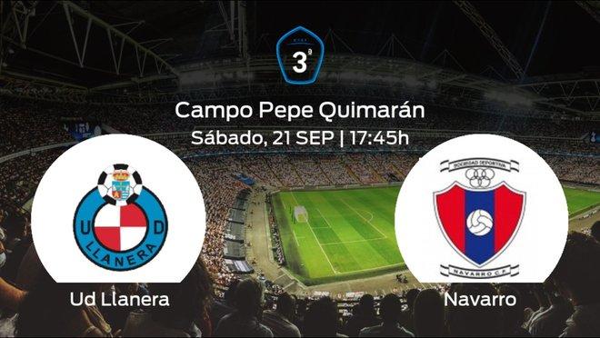 Previa del encuentro de la jornada 5: Ud Llanera contra Navarro