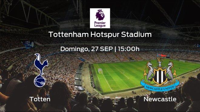 Previa del partido: el Tottenham Hotspur recibe al Newcastle United
