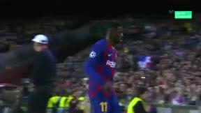 Ansu Fati entró ovacionado por un pitado Dembélé