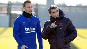 Arthur trabajó a las órdenes de Valverde