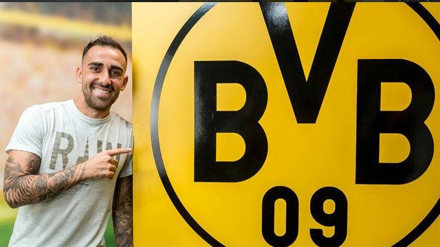 Así anuncia el BVB el fichaje de Alcácer
