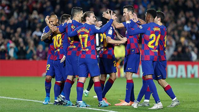 Así fue la goleada del mejor Barça del año