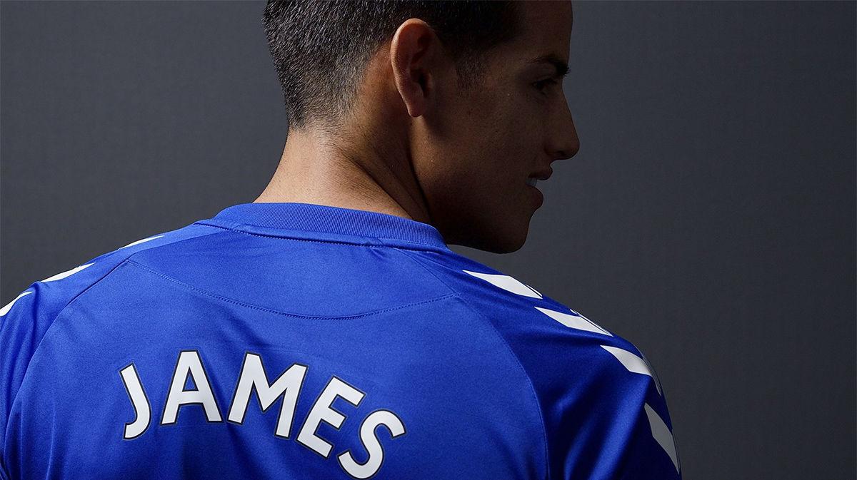Así ha hecho oficial el Everton el fichaje de James Rodríguez