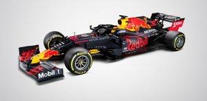 Asi es el nuevo RB16 de Red Bull Racing