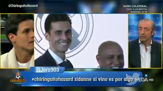 Así reacciona Florentino Pérez cuando le preguntan por Hazard