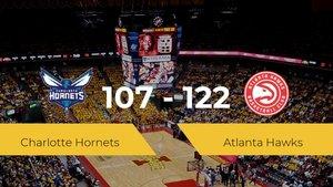 Atlanta Hawks se hace con la victoria en el Spectrum Center contra Charlotte Hornets por 107-122