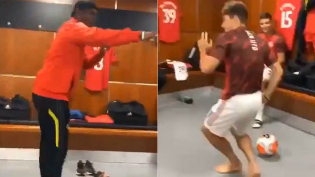¡El baile de Pogba y un canterano del United que se ha vuelto viral!