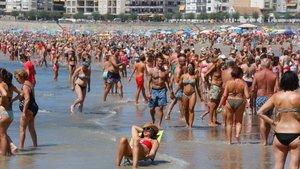 Un bañista se pierde en Girona y lo encuentran en un prostíbulo